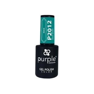 Rock Music Purple Gel Enamel Nº2012 -Semi permanent enamel -Purple Professional