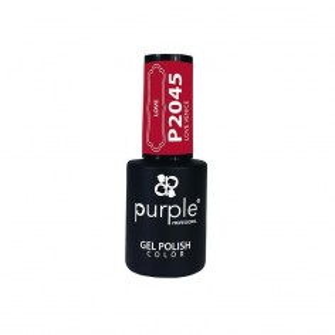 Gel enamel Love Venice Purple Nº2045 -Semi permanent enamel -Purple Professional
