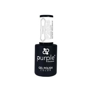 Esmalte Semipermanente Gel P2036 Forever Angel Purple Professional -Esmalte semi permanente -Purple Professional