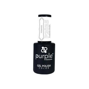Gel Enamel Forever Angel Purple Nº2035 -Semi permanent enamel -Purple Professional