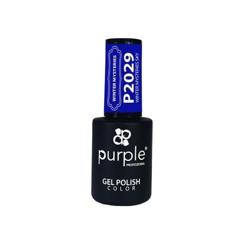 Esmalte Gel Winter Misteries Sky Purple Nº2029 -Semi permanent enamel -Purple Professional