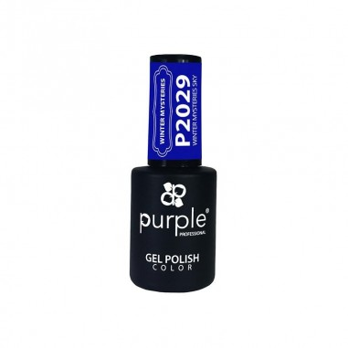 Gel Enamel Winter Misteries Sky Purple Nº2029 -Semi permanent enamel -Purple Professional