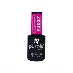 Winter Misteries Ball Purple Gel Enamel Nº2027 -Semi permanent enamel -Purple Professional