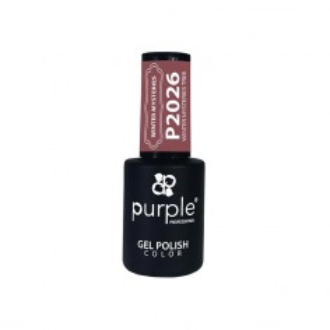 Esmalte Gel Winter Misteries Tree Purple Nº2026 -Semi permanent enamel -Purple Professional