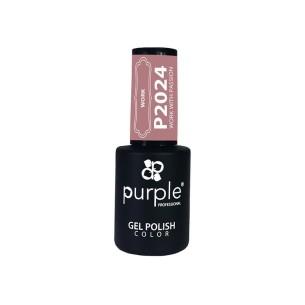 Esmalte Gel Work With Passion Purple Nº2024 -Semi permanent enamel -Purple Professional