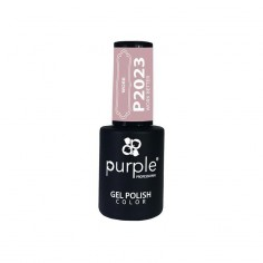 Gel Polish Work Better Purple Nº2023 -Semi permanent enamel -Purple Professional