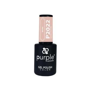 Gel Enamel Work Faster Purple Nº2022 -Semi permanent enamel -Purple Professional