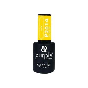 Esmalte Gel P2014 Rock Ticket Purple Professional -Esmalte semi permanente -Purple Professional
