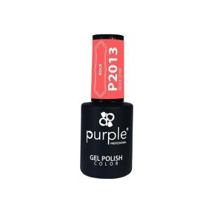 Rock Star Purple Gel Enamel No. 2013 -Semi permanent enamel -Purple Professional