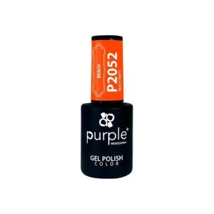 Esmalte Gel P2052 Beach Party Purple Professional -Esmalte semi permanente -Purple Professional