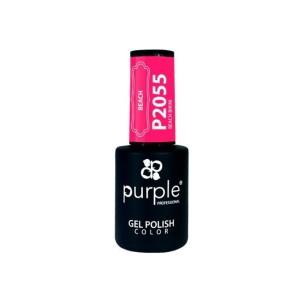 Esmalte Gel P2055 Beach Bikini Purple Professional -Esmalte semi permanente -Purple Professional