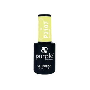 Esmalte de gel BE 2107 Purple -Semi permanent enamel -Purple Professional