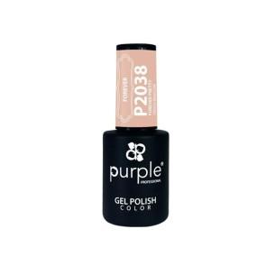 Esmalte Gel P2038 Forever Pretty Purple Professional -Esmalte semi permanente -Purple Professional