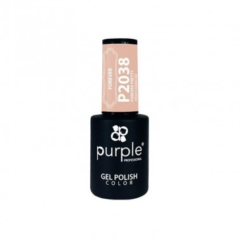 Purple Esmalte Gel P Forever Pretty -Semi permanent enamel -Purple Professional