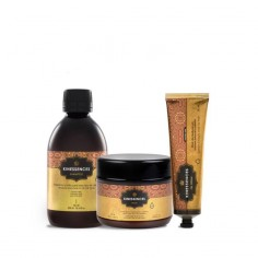 Pack Kinessences OES Mascarilla + Champú + Oil Cream -Packs de productos para el pelo -Kin Cosmetics