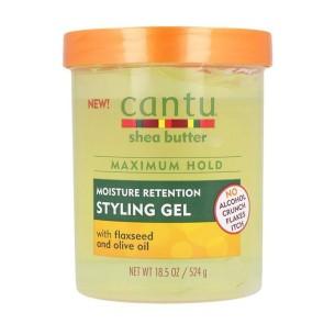 Cantu Shea Butter Styling Gel Con Semilla De Lino -Waxes, Pomades and Gummies -Cantu