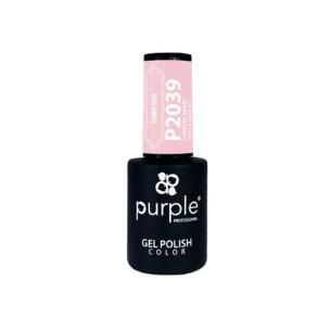 Esmalte Semipermanente Gel P2039 Forever Sweet Purple Professional -Esmalte semi permanente -Purple Professional