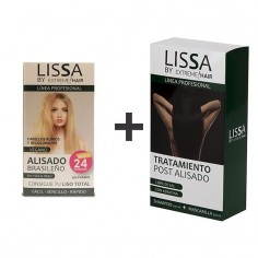 Pack Alisado Rubios Lissa + Kit Mantenimiento (Champú + Mascarilla) -Hair product packs -Lissa