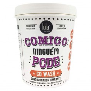 Co Wash Comigo Ninguém Pode Lola 450 g -Conditioners -Lola Cosmetics