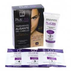 Brazilian straightening disposable kit Plusliss -Permanent and straightened -Maurens