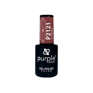 Esmalte Gel P2121 My Chiuahua Purple Professional -Semi permanent enamel -Purple Professional