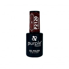 Gel Polish P2120 My French Bulldog Purple -Semi permanent enamel -Purple Professional