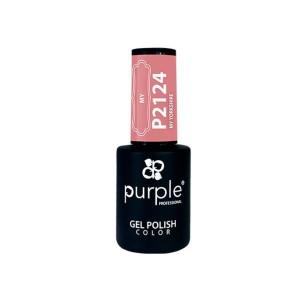 Esmalte Gel P2124 My Yorkshire Purple Professional -Semi permanent enamel -Purple Professional