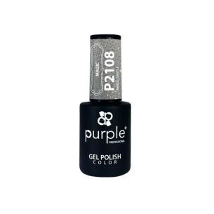 Gel Polish Purple Professional P2108 Magic Castle -Semi permanent enamel -Purple Professional