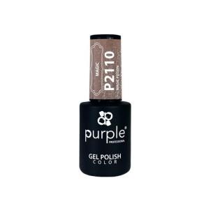 Esmalte Gel Purple Professional P2110 Magic Potio -Semi permanent enamel -Purple Professional
