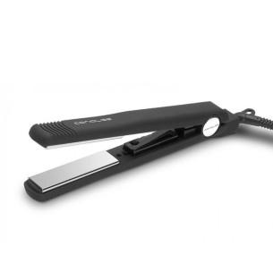 Ferro C Estilo Preto Soft Touch Corioliss -Alisadores, pinças e rolos de cabelo -Corioliss