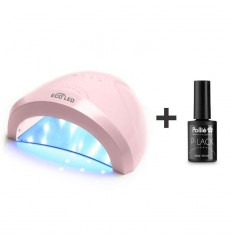24 / 48W White Eco Led Nail Lamp + GIFT Top Coat -Nail Lamps and Manicure Lathes -Giubra