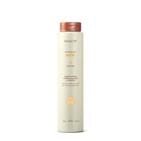 Champú Nutri 3 Intense Kinactif 300ml -Champús -Kin Cosmetics
