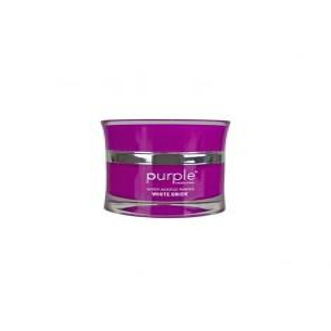 Polvo Acrílico Queen White Bride 50 g Purple -Gel & Acrylic Nails -Purple Professional