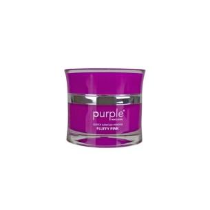 Polvo Acrílico Queen Fluffy Pink 50 g Purple -Uñas de gel y acrílico -Purple Professional