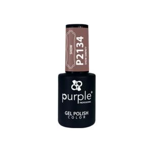 Esmalte Gel P2134 Show Simpaty Purple -Esmalte semi permanente -Purple Professional