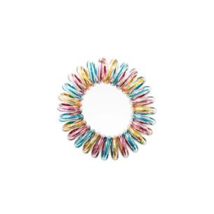 Goma de Pelo Invisible Multicolor 3 unidades -Horquillas, pinzas y coleteros -AG