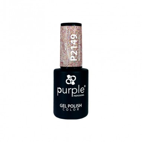 Esmalte Semipermanente Gel P2149 Purple -Semi permanent enamel -Purple Professional