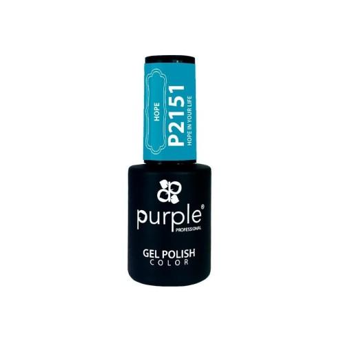 Esmalte Semipermanente Gel P2151 Purple -Semi permanent enamel -Purple Professional