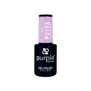 Esmalte Semipermanente Gel P2153 Purple -Semi permanent enamel -Purple Professional