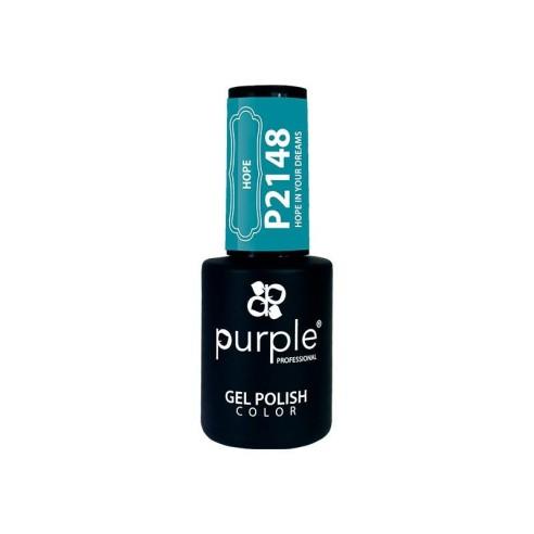 Esmalte Semipermanente Gel P2148 Purple -Semi permanent enamel -Purple Professional