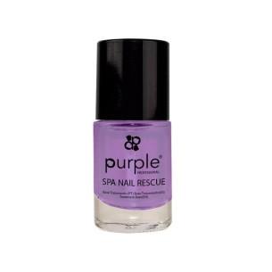 Spa Nail Rescue Purple 10ml -Tratamientos para uñas y quitaesmaltes -Purple Professional