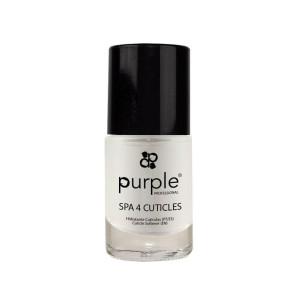 Spa 4 Cuticles Líquido Cutículas Purple 10ml -Tratamientos para uñas y quitaesmaltes -Purple Professional