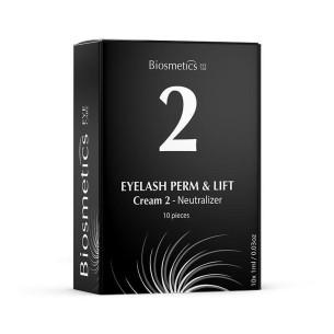 Lifting Pestañas Paso 2 Neutraliz Biosmetics 10 ud -Eyelashes and eyebrows -Biosmetics