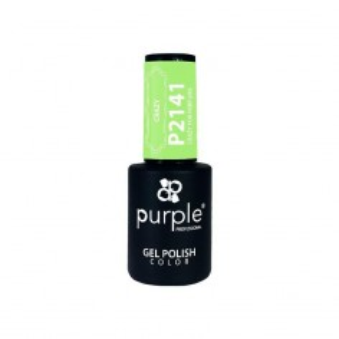 Esmalte Gel P2141 Crazy For Parfums Purple -Semi permanent enamel -Purple Professional