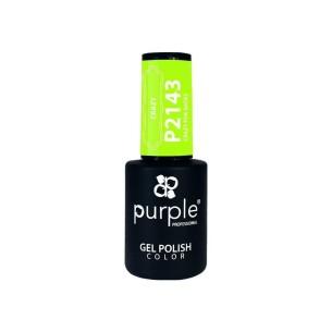 Esmalte Gel P2143 Crazy For Shoes Purple -Semi permanent enamel -Purple Professional