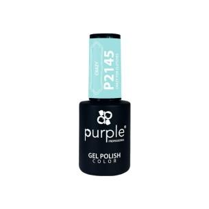 Esmalte Gel P2145 Crazy For Clutches Purple -Esmalte semi permanente -Purple Professional