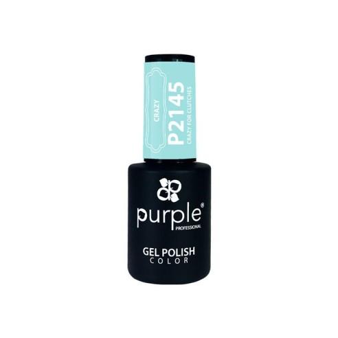 Esmalte Gel P2145 Crazy For Clutches Purple -Semi permanent enamel -Purple Professional