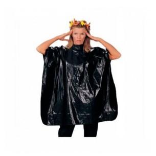 Capa Tinte PVC Negra larga con velcro Giubra -Capes and aprons -Giubra