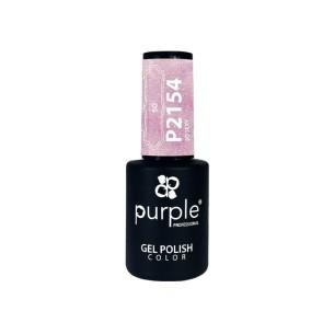 Esmalte Gel P2154 So Sexy Purple Professional -Esmalte semi permanente -Purple Professional