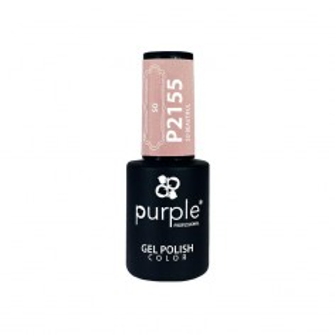 Esmalte Gel P2155 So Beautiful Purple Professional -Esmalte semi permanente -Purple Professional